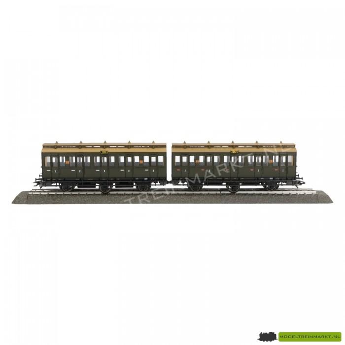 4207 Märklin Doppel-Abteilwagen 2e klas
