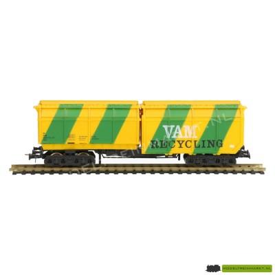 46224 Roco VAM Recycling goederenwagen