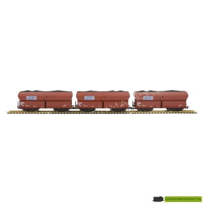 44138 Roco steenkool goederenwagens set van 3