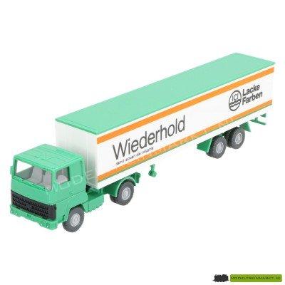 """24540 Wiking Ford Vrachtwagen met """"Wiederhold Lacke Farben"""" Oplegger"""