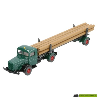 3390 Wiking Büssing 8000 Hout-Transport