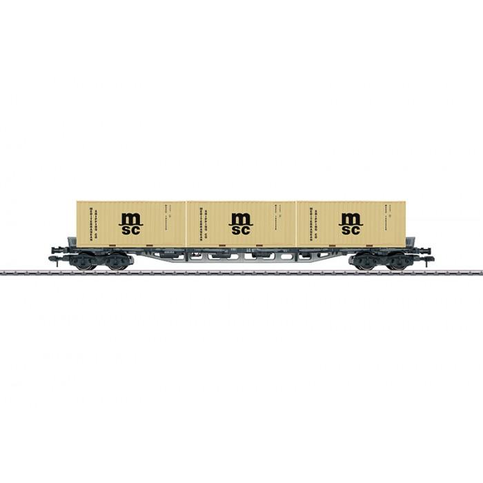 58709 Märklin Multifunctionele Containerwagen Sgjs 716
