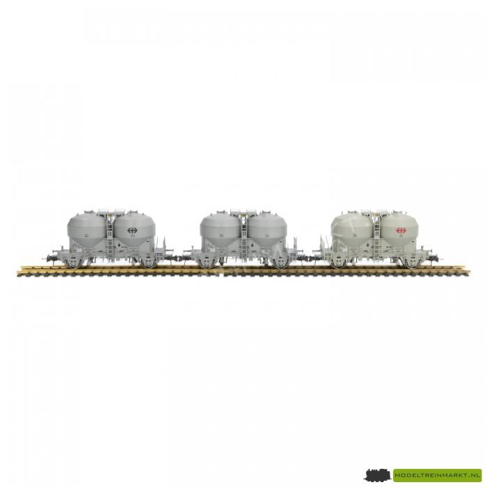 66013 Roco Set van 3 silo wagens