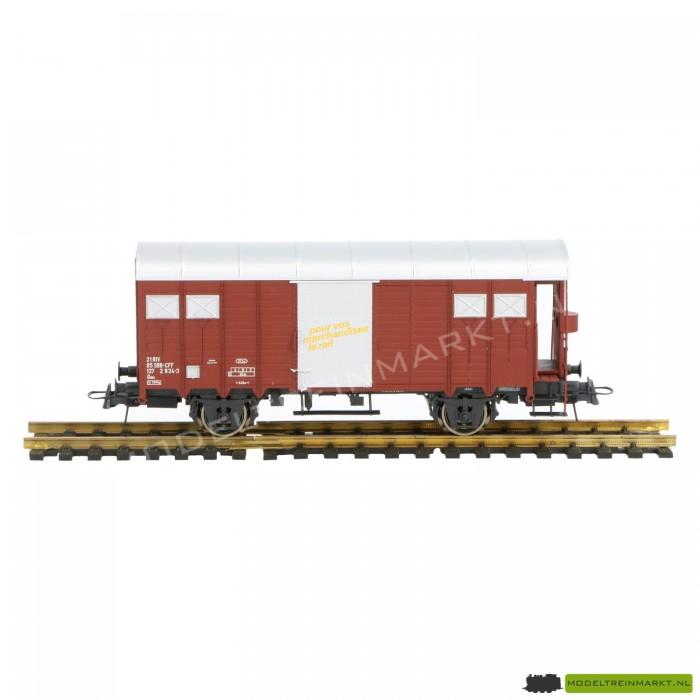 66206 Roco Gesloten containerwagen