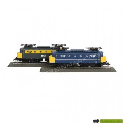 37243 Märklin Dubbelset met 2 elektrische locomotieven Serie 1100 NS