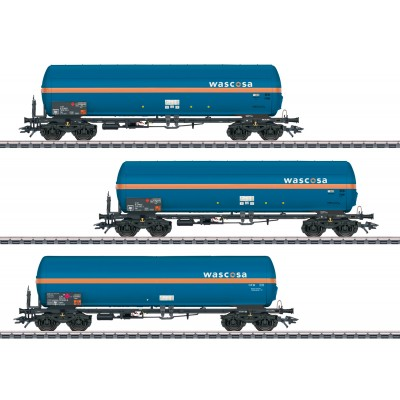 """48488 Märklin Set 3 Drukgasketelwagens """"Wascosa"""""""