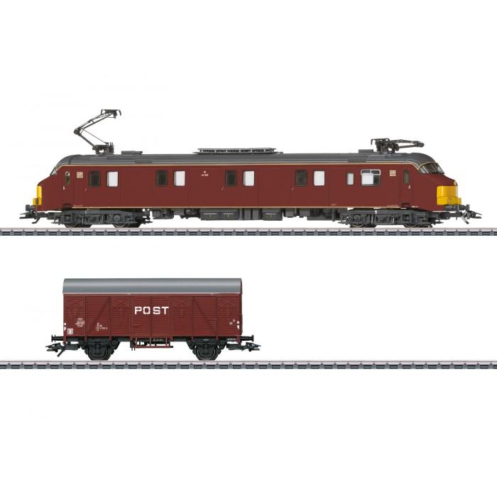 26613 Märklin Motorpostwagen met wagon