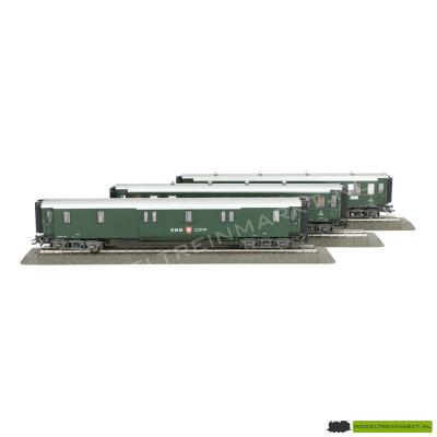 42383 Märklin Wagen-Set ´Schweizer Oldtimer-Personenzug´