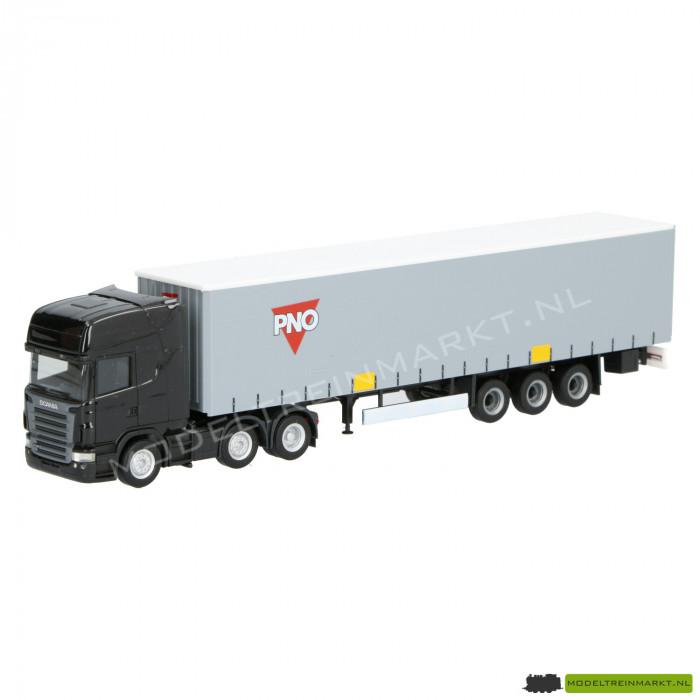 """1801 Herpa Exclusief Scania R Koeltrailer """"PNO"""""""
