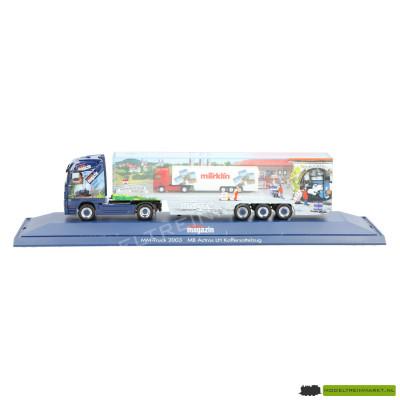 """Herpa Märklin Magazin Truck 2003 """"MB Actros LH Koffersattelzug"""""""