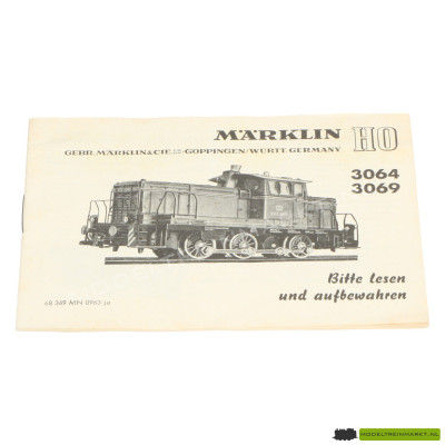 3064/3069 Märklin Locomotief Handleiding