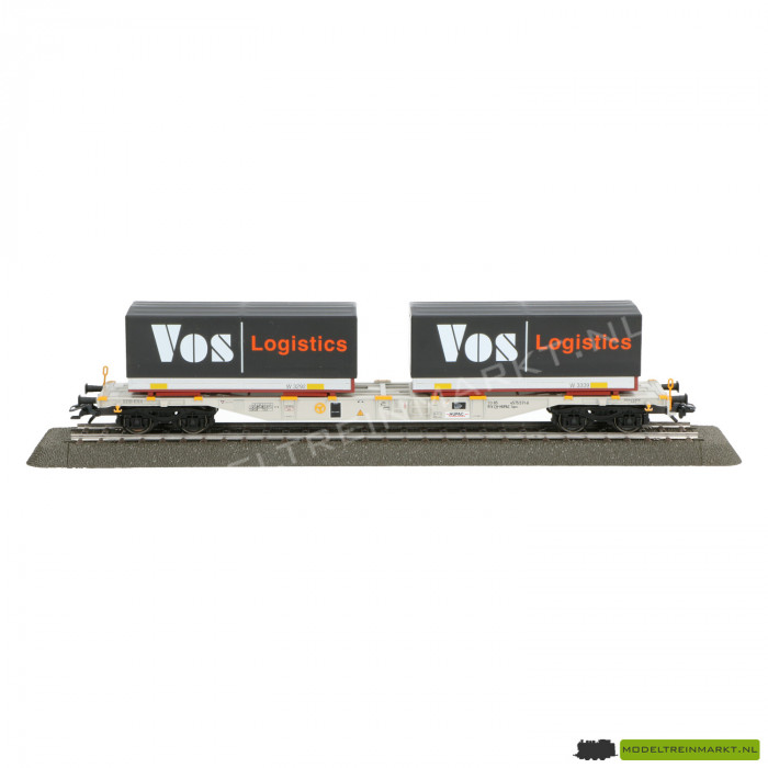 47081 Märklin Set containerwagens 'Vos Logistics'