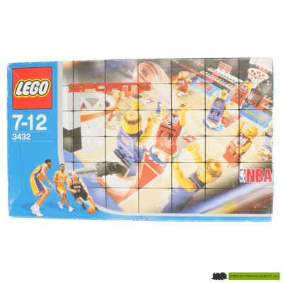 3432 LEGO® sports NBA Challenge Basketball set