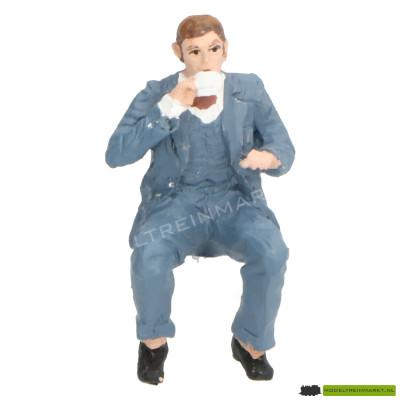 400149B KM-1 Kaffee Klaus, blauw pak