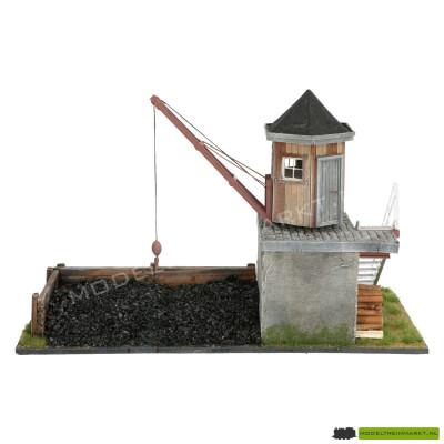 PAJ Modelbouw Hijskraan met opslag