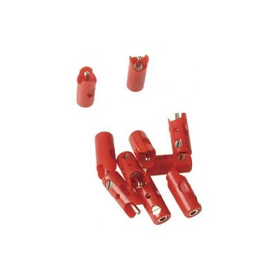 71415 Märklin Steker Rood 10 stuks