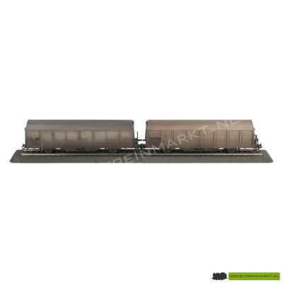 47352 Märklin Set goederenwagens Wetterseiten