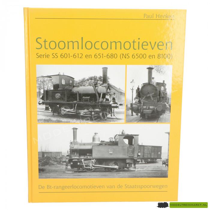 Stoomlocomotieven SS 601-612 en 651-680 (NS 6500 en 8100)