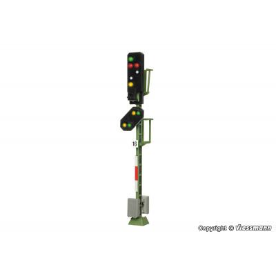 4016 Viessmann licht- inrijsein met voorsein