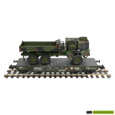 58658 4MFOR zwaarlast wagon met Militaire Vrachtwagen