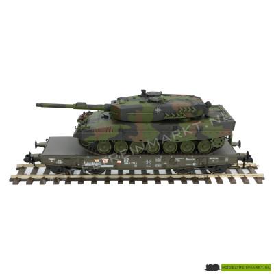 58035-02 4MFOR Plattewagon voor transport Leopard 2A1 tank