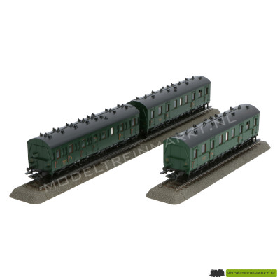 43972 Märklin passagierswagon set