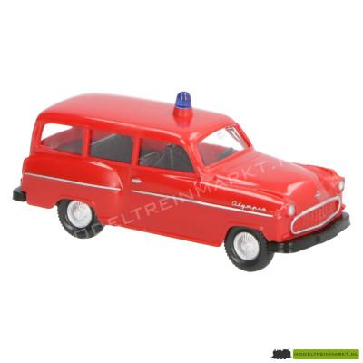861 12 25 Wiking Feuerwehr - Opel Caravan '56