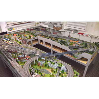 Complete Märklin treinbaan met I-train besturing