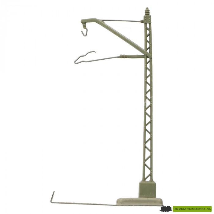 7009 Bovenleidingmast 100 mm oude voet