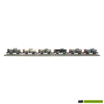46084 Märklin Set van 6 ketelwagens