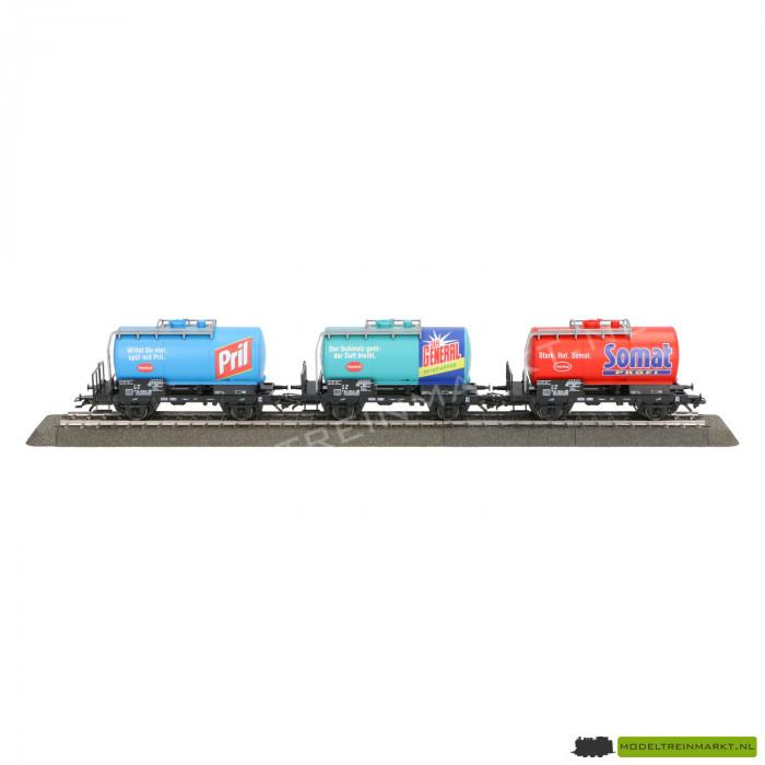"""46423 Märklin Set van 3 ketelwagens """"Henkel"""""""