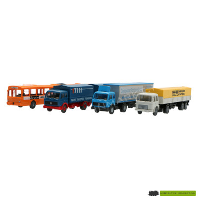 198301 Wiking - 4 Delig Groot Transport Set