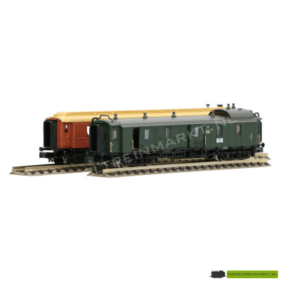 15967 Minitrix - Sneltrein Passagierswagon set DRG