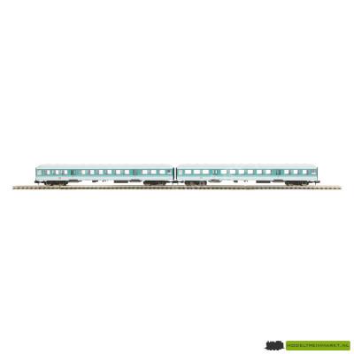 15393 Minitrix - DB Personenwagon 2e klas - BR 50 80