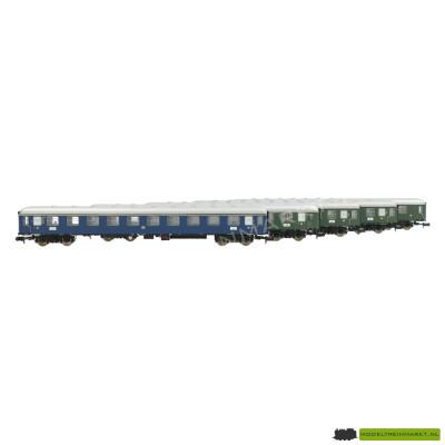 15548 Minitrix - Personenwagon set van 5 - DB - 1e en 2e klas