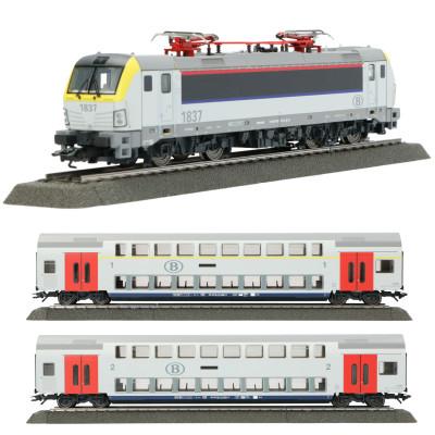 Maandaanbieding: uit set 29474 Marklin Loc + wagons
