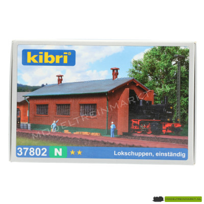 37802 Kibri - Locomotief Schuur