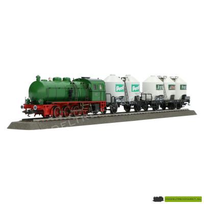 26504 Marklin - Stoomtrein met ketelwagons set - DB