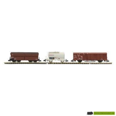 11123 Mini Trix - Goederen wagonset (uit startset) - DB