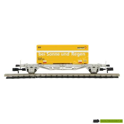 931485 Fleischmann - Container Wagon met 'Die Post' Container uit startset