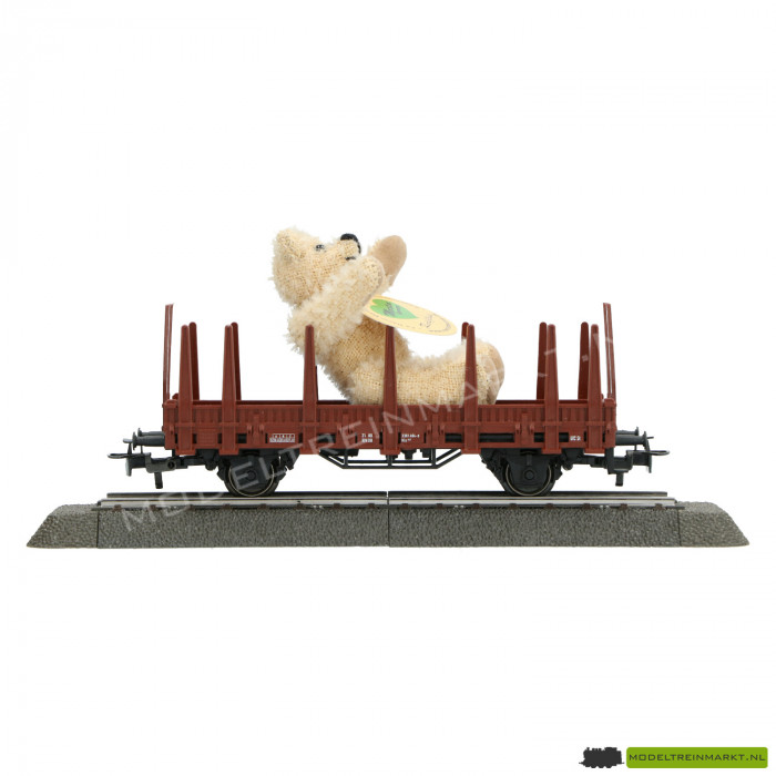 4459 Marklin - Limited Edition Wagon met 'Martin' Teddy Beer