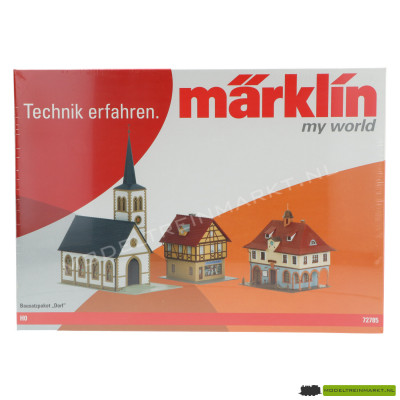 72785 Marklin Bouwpakket 'Dorp'