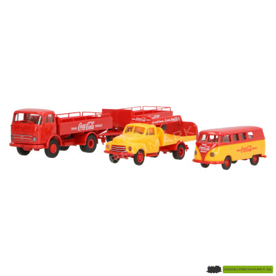 LC21014 Lemke - Coca-Cola Transporter-set (VW, Mercedes, Opel)