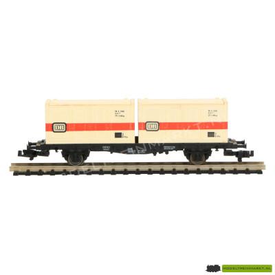"""8234 K Fleischmann - container draagwagen """"DB"""""""