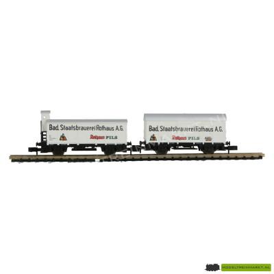 0231 Arnold - Set van 2 Bierwagens - 'Rothaus Pils' - BR 112/113