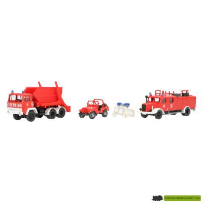1354 Roco Feuerwehrset