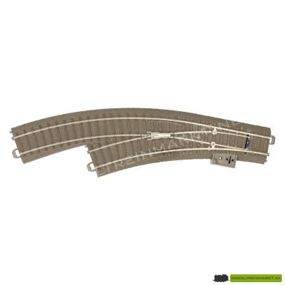 62671 Trix C-rail Meegebogen wissel Links