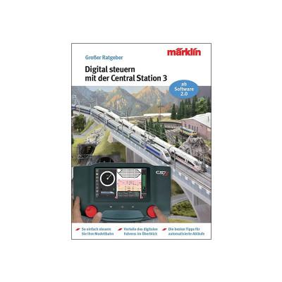 03083 Märklin Boek 'Digitaal rijden met CS3' (Duits) software versie 2