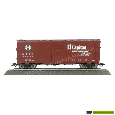 29848 Märklin Boxcar Santa Fe Amerikaanse Goederenwagon