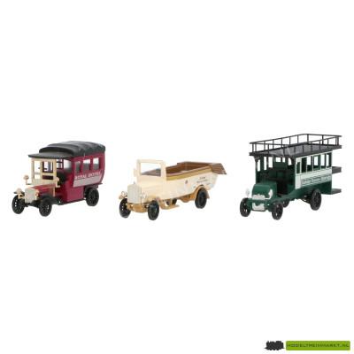 1885 Märklin Set oldtimer bedrijfswagens
